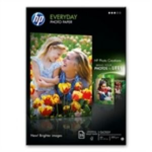 HP A4 Semi-Glossy Photo Papir, 200g