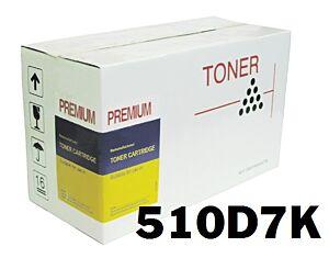 Samsung CLP-510D7K Sort Toner Kompatibel