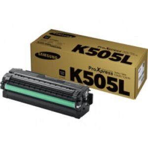 Samsung CLT-K505L/ELS Sort Lasertoner Original