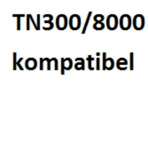 Brother TN200 / TN300 / TN8000 Lasertoner Kompatibel