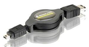 Firewire kabel 6-pin til 4-pin