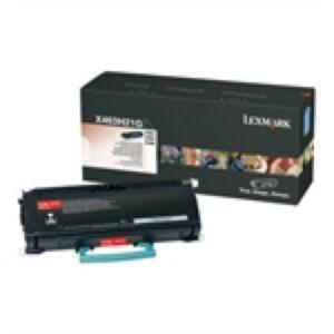 Lexmark X463H21G Black Lasertoner Original