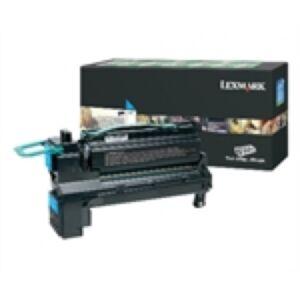 Lexmark X792X6CG Cyan Lasertoner Original