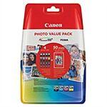 Canon CLI-526 Value Pack CMYPB + Paper Original