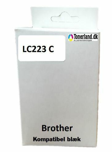 Brother LC223C Cyan Kompatibel