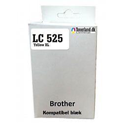 Brother LC 525 Gul XL Kompatibel