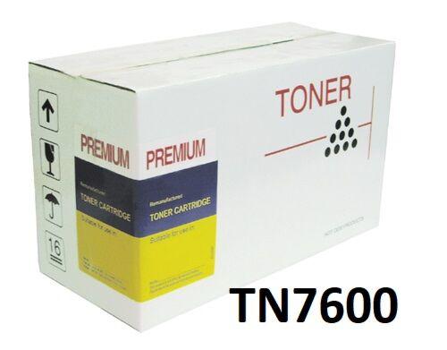 Brother TN7600 Sort Toner kompatibel