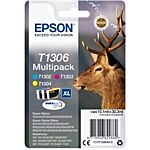 Epson T1306 Multipakke CMY Original