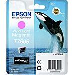 Epson T7606 Lys Magenta Original