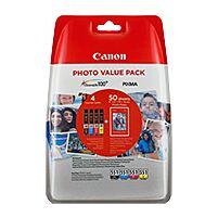 Canon CLI-551XL Value Pack BK/C/M/Y Original