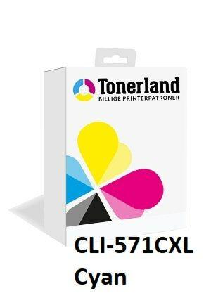 Canon CLI-571 XL Cyan kompatibel
