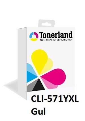 Canon CLI-571 Yellow XL kompatibel