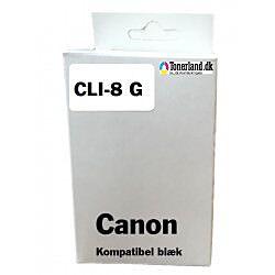 Canon 8 Grøn Blækpatron CLI-8G kompatibel