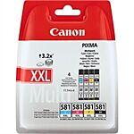 Canon CLI-581XXL Multi Pack BK/C/M/Y Original
