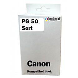 Canon PG-50 Sort Blækpatron kompatibel