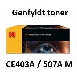 CE403A / 507A Magenta Genbrug-Miljøvenligt