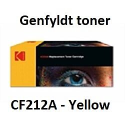 CF212A Yellow Genbrug-Miljøvenligt