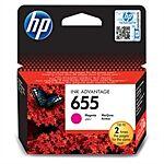 HP 655 Magenta blæk Original