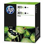 HP black 301XL sampak 2 stk. Original