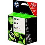 HP No.301 Triple Pack CR340EE Original