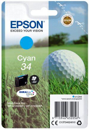 Epson 34 Cyan Printerpatron No.34 Original