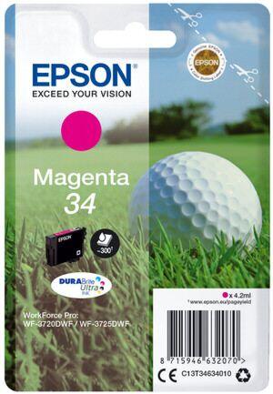 Epson 34 Magenta Printerpatron No.34 Original