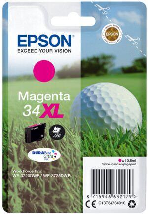 Epson 34XL Magenta Printerpatron Original