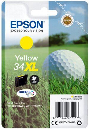 Epson 34XL Yellow Printerpatron Original