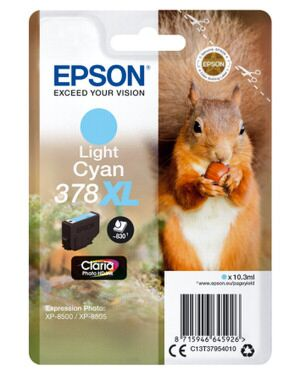 Epson 378XL Light Cyan Printerpatron Original