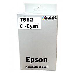 Epson T061240 Cyan Blækpatron Kompatibel