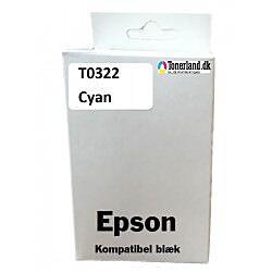 Epson T0322 Cyan Blæk kompatibel