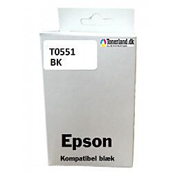 Epson T0551 sort blæk kompatibel