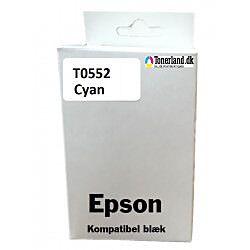 Epson T0552 Cyan blæk kompatibel