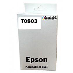 Epson T0803 Magenta Blækpatron kompatibel