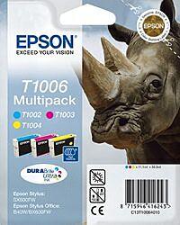 Epson T1006 Value Pack Blækpatron Original