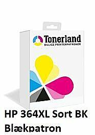 HP 364XL Sort Blækpatron Kompatibel