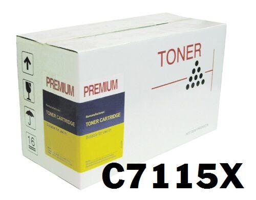 HP 7115X Sort 15X Toner Kompatibel