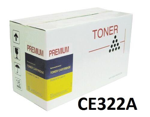 HP CE322A / 128A Gul  toner kompatibel