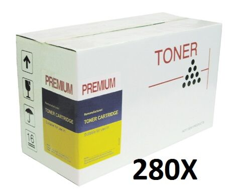 HP CF280X 80X Sort Toner Kompatibel
