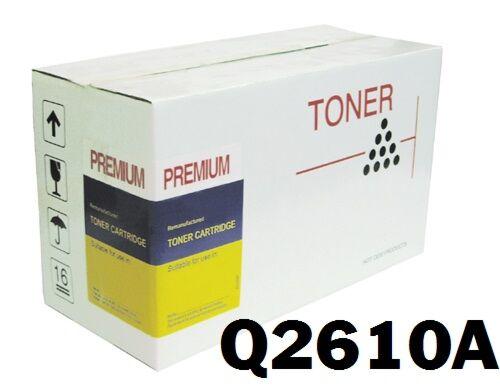 HP Q2610A Sort Lasertoner Kompatibel