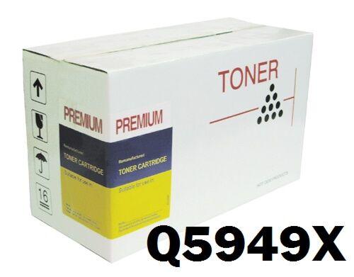 HP Q5949X Sort Toner Kompatibel