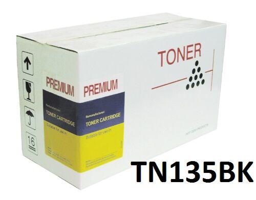 Brother TN135BK Sort toner Kompatibel