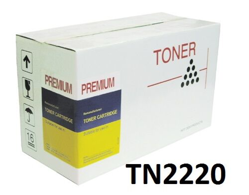 Brother TN2220 Sort Lasertoner kompatibel