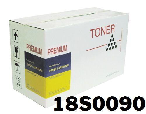 Lexmark 18S0090 Toner Sort kompatibel