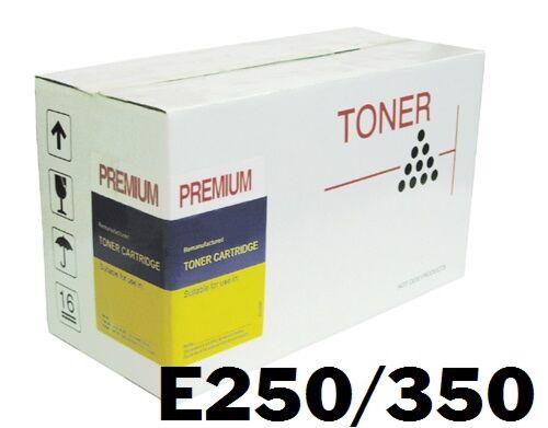 Lexmark E250 E350 Sort Toner Kompatibel