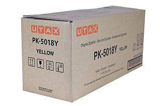 Utax Toner PK-5018Y Yellow Original