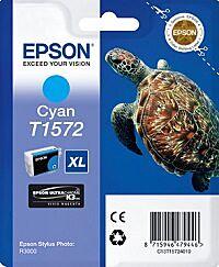 Epson T1572 Cyan Blækpatron Original