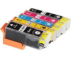 Epson 26Xl Gul printerpatron kompatibel