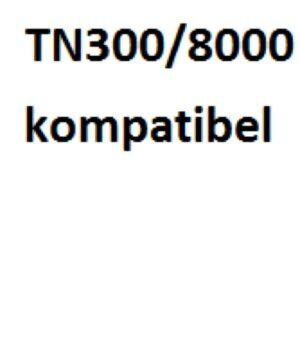 Brother TN200 / TN300 / TN8000 Lasertoner Kompatibel