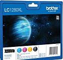 Brother LC1280XLVALBPDR Value Pakke Original